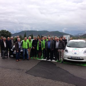 Le SDE07 sur l'eRallye de Monte-Carlo
