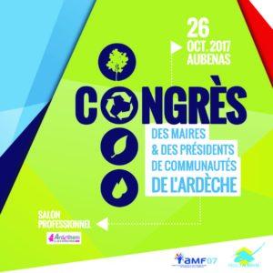 Le SDE 07 au Salon du Congrès des Maires de l'Ardèche
