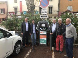 Bientôt 110 bornes opérationnelles en Ardèche
