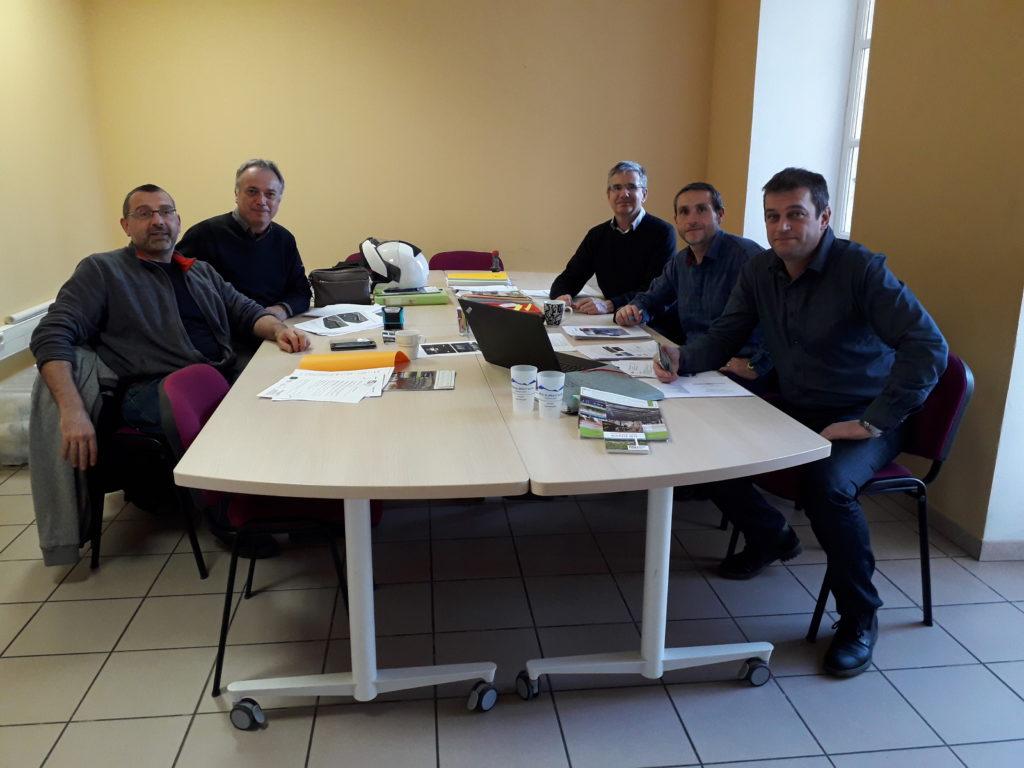 Lancement chantier centrales PV Ardèche Sources et Volcans