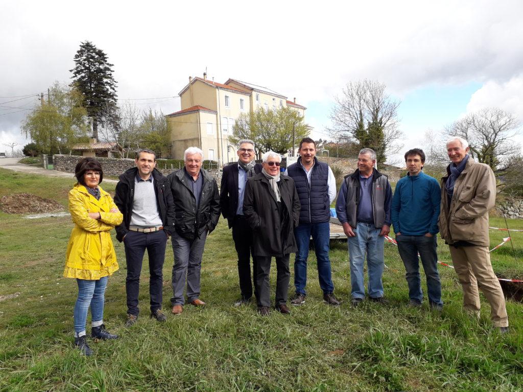 Inaugurtaion PV Champis avril 2019