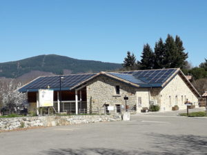 Du solaire pour la salle des fêtes de Fabras, avec l'accompagnement du SDE 07