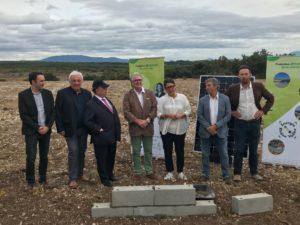 Un nouveau parc photovoltaïque pour ENERGIE RHONE VALLEE