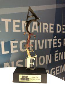 Certificats d'Economie d'Energies : le SDE 07 reçoit le prix ACTEE
