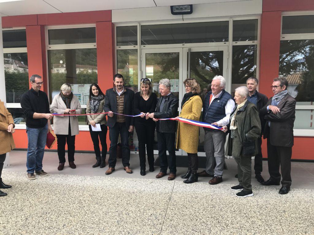 Ecole rénovée Beauchastel nove 2019