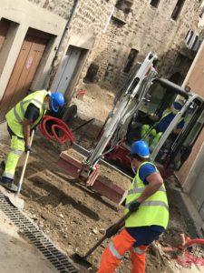 Reprise des chantiers d'électrification : la sécurité avant tout