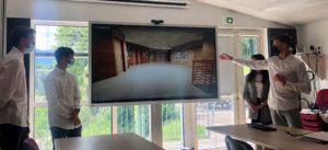 Le SDE 07 confie à des lycéens son projet de restructuration de son siège