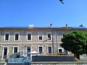 La commune de La Souche quasi autonome en électricité